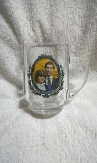 To Commemorate the Marriage of The Prince of Wales & Lady Diana Spencer Glass Mug