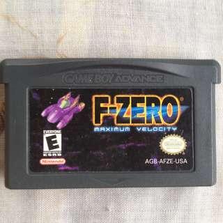 F zero. GBA games