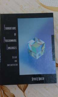 Foundation of programming book