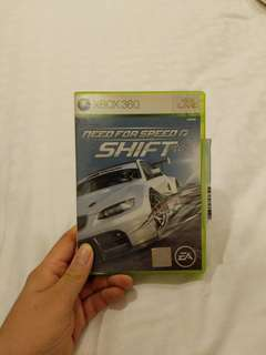Need for speed shift xbox360