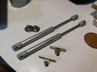 櫃門油壓臂 及其配件
