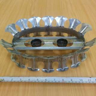 Stainless Steel Steam Stand.