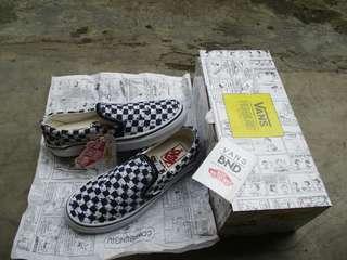 Vans Slip-On Snoopy Peanuts Checkerboard ( Waflee ICC )