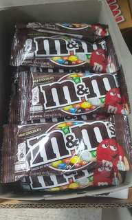 M&Ms 4 for 120.00