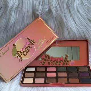 Too faced peach palatte