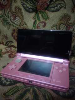 Nintendo 3Ds with Gachapin x Mukku case