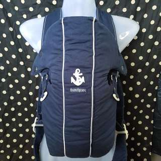 BABYBJORN Baby Carrier Original Navy Blue Anchor