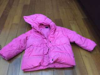 Gap girl down jacket