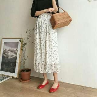 🇰🇷(2色)有內襯❗飄飄小碎花長裙🍊超夯款式 大推100分的美麗💕#女裝半價