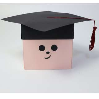 Graduation (Pink) Explosion Gift Box