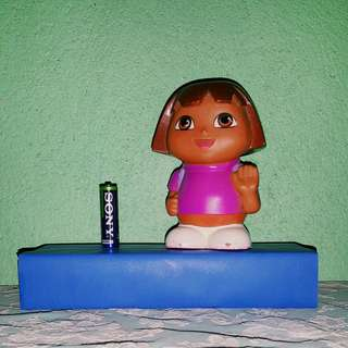 Dora the Explorer coin bank