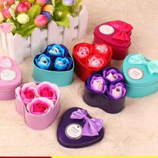 Soap Flower Mother's Day Gift!!! 3 flowers/ box Pre order Until 28/4!!!