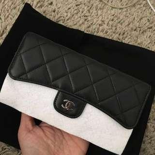 CHANEL LAMBSKIN classic flap wallet