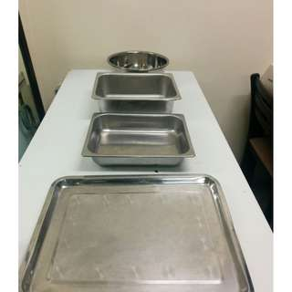 Stainless Steel Tray.