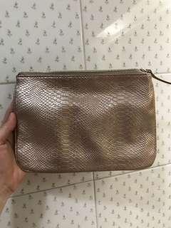Nine West Gold Clutch Bag