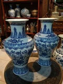 Porcelain vase china E1