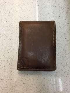 Fossil Original Wallet USA brown men