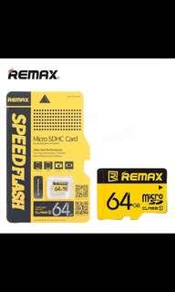 Remax Original 64GB TF Micro SD Class10 High-speed Flash Memory Card