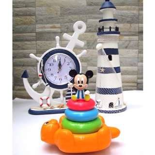 Mickey Educational Stackable Rings