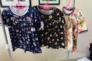 Ringer short and tshirt set