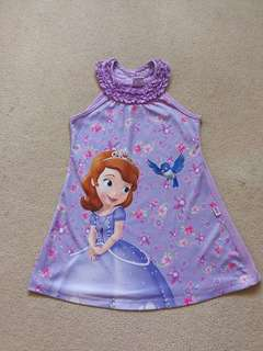 Sofia the First Purple Dress
