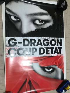 G-dragon 個人海報 poster