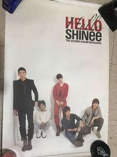 Shinee hello 海報 poster