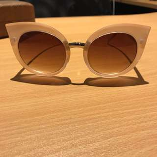 Quay Australia rose cat eye sunglasses