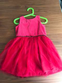 Carter's and Tommy Hilfiger dresses for sale (3yo) - one used and one brand new