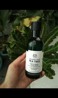 Facial Wash Tea Tree The Body Shop