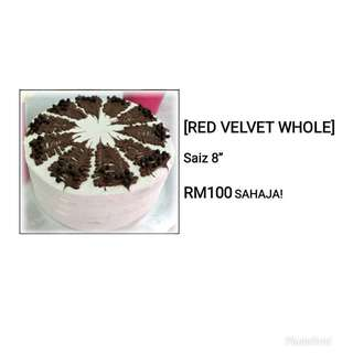 Red velvet cake by Sabrina Bakery