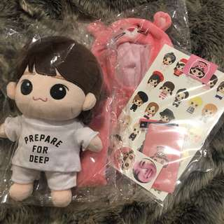 Pink Taengther SNSD Taeyeon Doll Plush