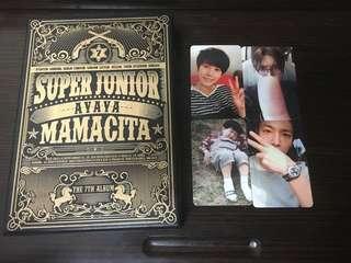 現貨⭐️ Super Junior Mamacita A版專輯 一張專輯一張小卡#