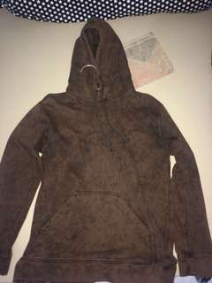 HOODIE ROUGHNECK WASHED DYED