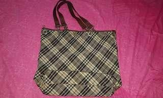 Burberry reversible bag
