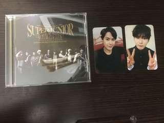 現貨⭐️ Super Junior Mamacita 日本版專輯 一張專輯一張小卡#