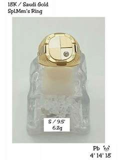18k Saudi Gold- Spl. Men's Ring