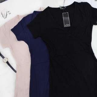 CO Kendall Wrap Dress