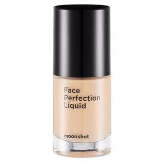 Moonshot face perfection liquid foundation