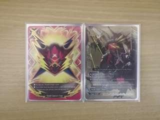 WTS Buddyfight Thunder Emperor Fangs