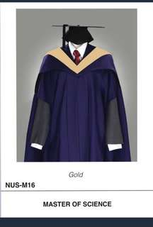 Selling out NUS Academic Dress