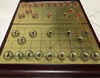 Crystal Chinese Chess Set