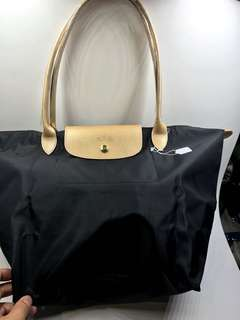 Longchamp 大號長柄可側咩 46cm x27cm 全新購自巴黎