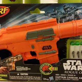 Star Wars Rogue One Captain Cassian Andor Nerf Blaster