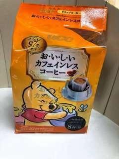 🚚 日本UCC維尼低咖啡因濾掛式咖啡