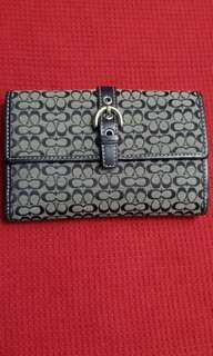 New item!Authentic Coach Bifold wallet