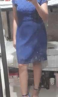 Paperdolls Blue Dress