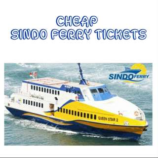 🚚 Sindo Ferry Tickets - Amazing Price!
