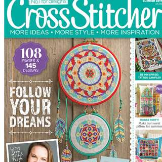 Cross Stitch Magazine Summer 2017