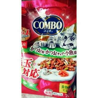 【日本銷售量第一的COMBO貓飼料】貓奴必買款。